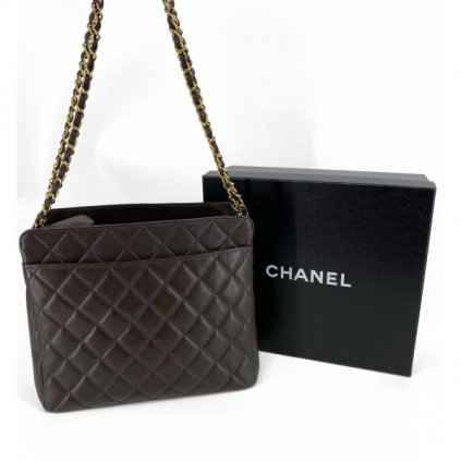 CHANEL Brown Vintage Bag