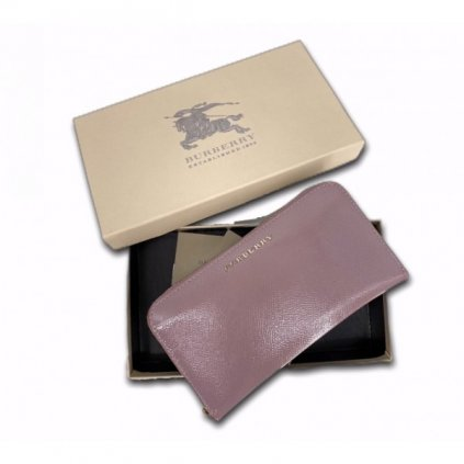 BURBERRY Pink Wallet