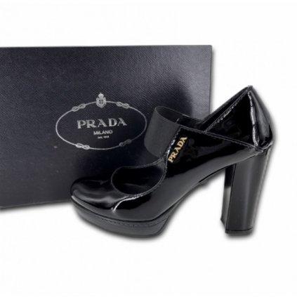 PRADA Black Leather Shoes