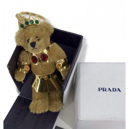PRADA Bear Keychain Pendant
