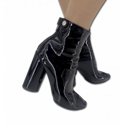 CHRISTIAN DIOR Black Ankle High Heels