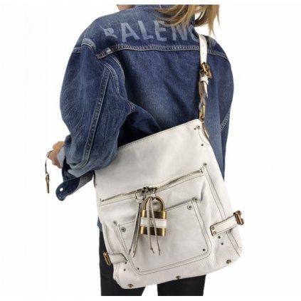 CHLOÉ White handbag