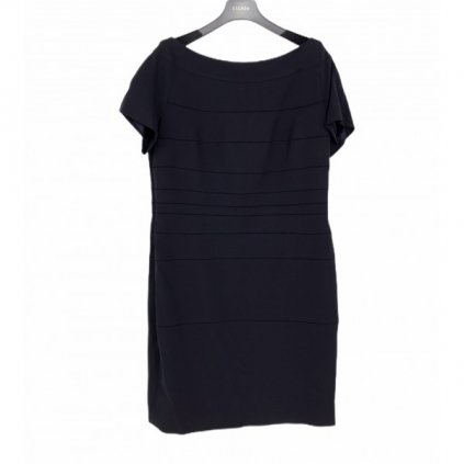 ESCADA Dark Blue Dress