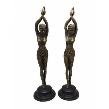 Bronzové sošky tanečnic
