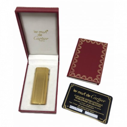 Cartier gold lighter