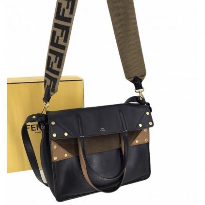 FENDI Large Flip Shoulder Bag