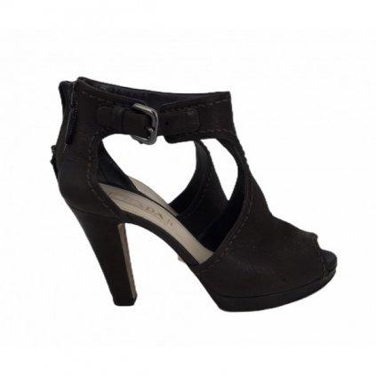 PRADA Dark Brown Heels 37