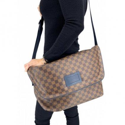 LOUIS VUITTON Damier Ebene Sprinter Shoulder Bag Unisex