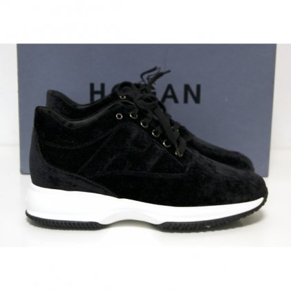 HOGAN Suede Flatforms NEW
