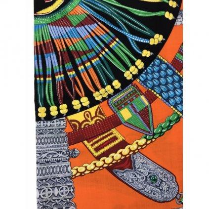 HERMÉS Colorful Cashmere Scarf