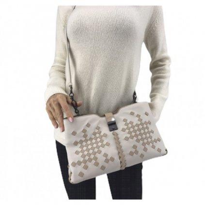 BOTTEGA VENETA Creme Handbag NEW