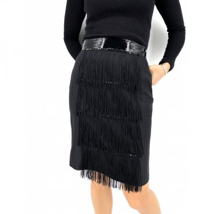 ALICE ABRAHAM Black Skirt