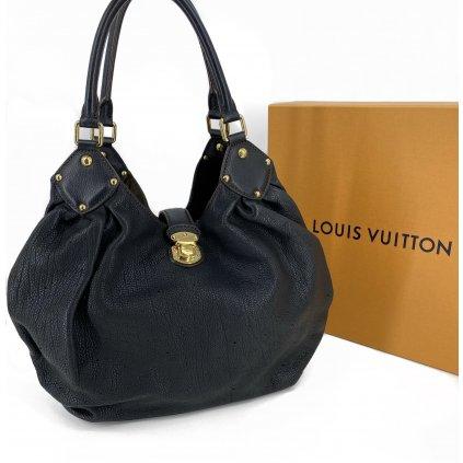 LOUIS VUITTON Mahina L In Black Tote Handbag