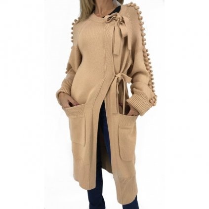 CHLOÉ Sandy Beige Cardigan NEW