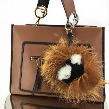 Fendi 'Fur Freak' Bag Bugs charm NEW