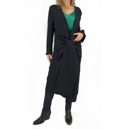 VICTORIA BECKHAM Black Coat