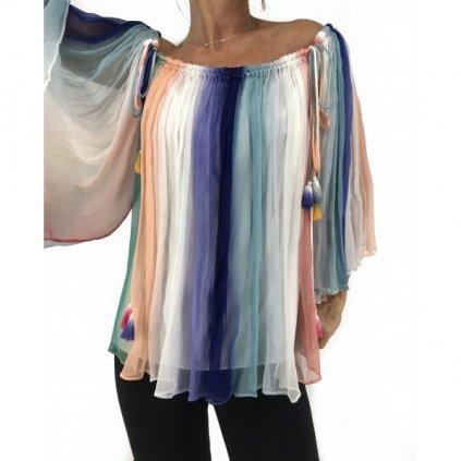 CHLOÉ Colorful Blouse