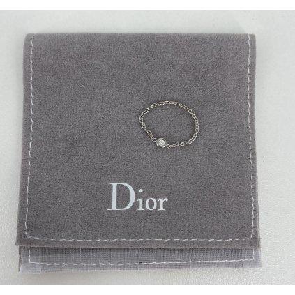 CHRISTIAN DIOR Mimioui Diamond Chain Ring