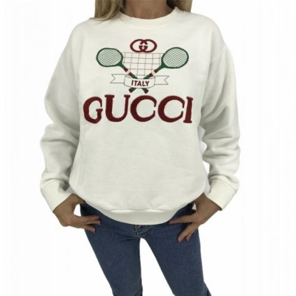 GUCCI Tennis oversized sweatshirt