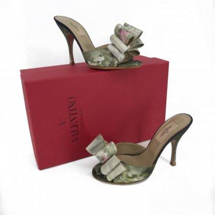 VALENTINO Flowered Sandals 36