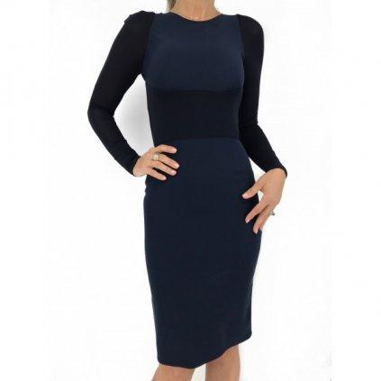 BURBERRY Dark Blue Dress