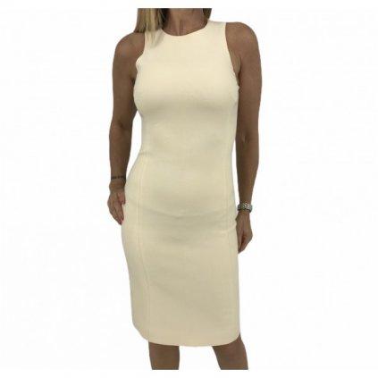 VERSACE Cream Beige Dress