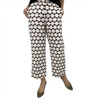 MAX MARA Black & White Pants
