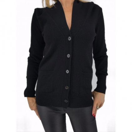 ERIC BOMPARD Black Cashmere Vest