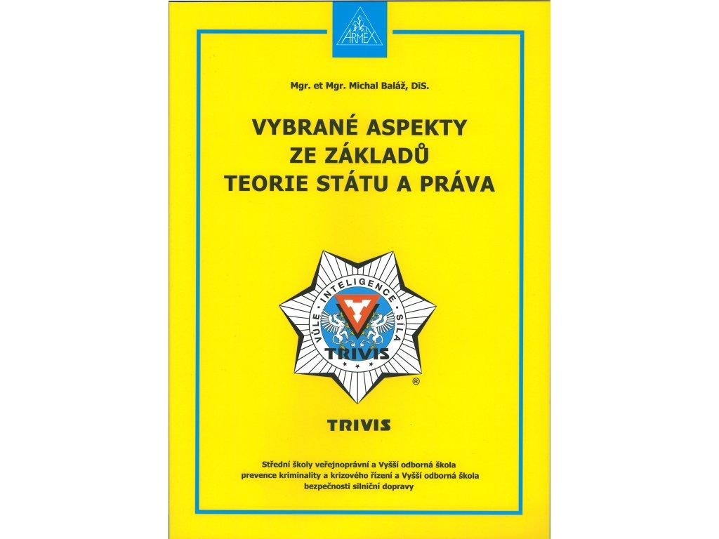 Vybrané aspekty ze základů teorie státu a práva titulní str.