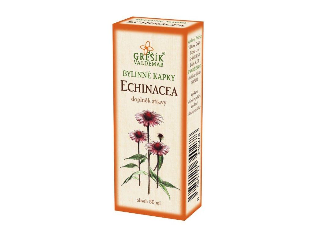 Echinacea kapky