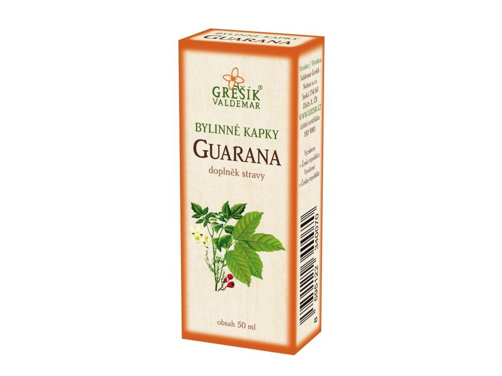 Guarana kapky