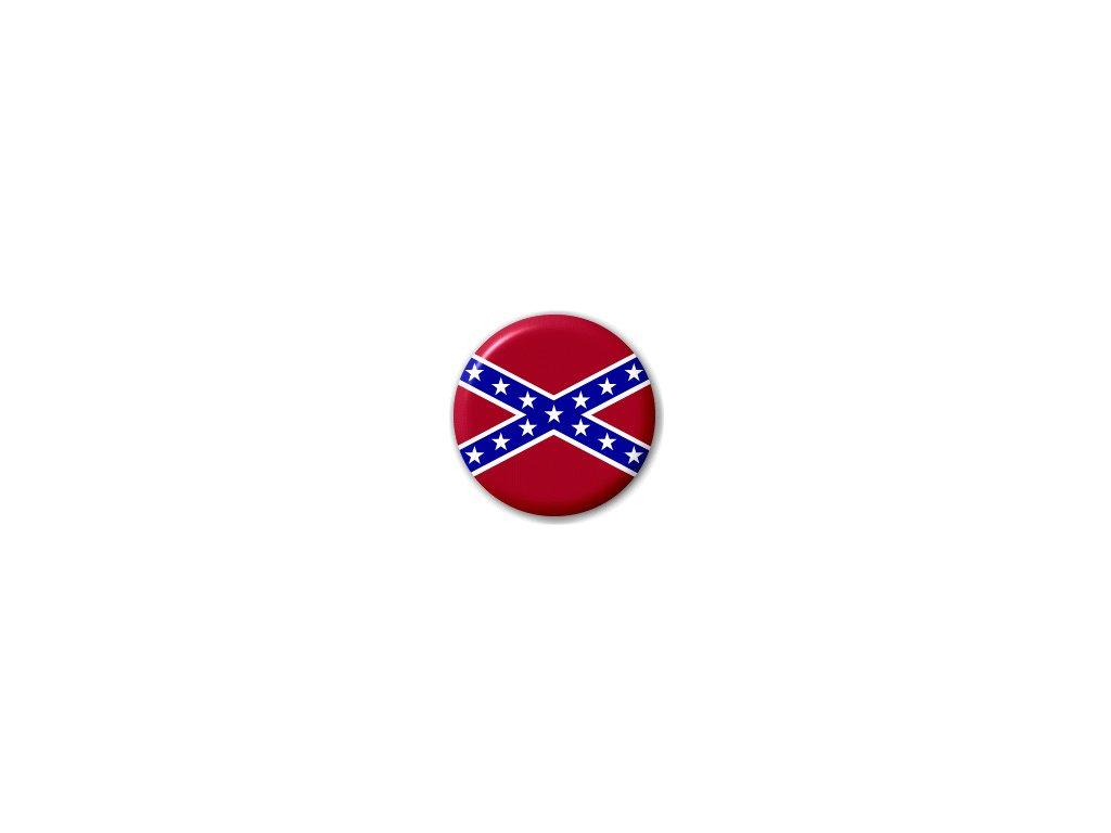 Placka vlajka Konfederace (jižanská) 25 mm - Army-Eshop   prodej vlajek cb53082f9d