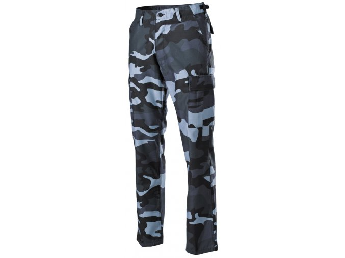 US klasické kalhoty BDU skyblue