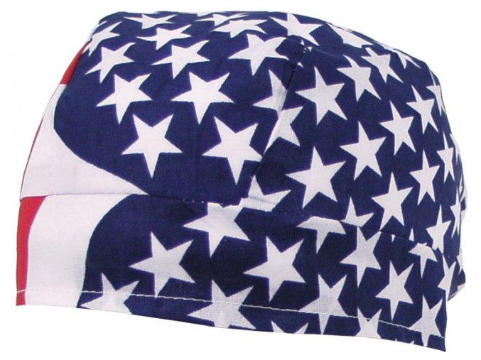 Šátek (BANDANA) USA vlajka