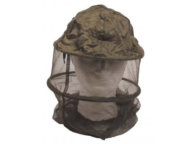 Moskytiéra (moskitiéra) DE LUX na hlavu s kroužky