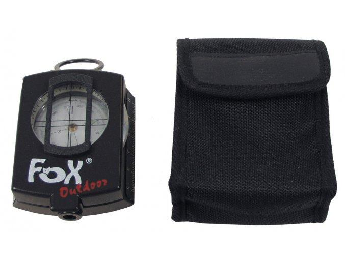 Kompas Preciz s kovovou schránku s kapsou na pásek