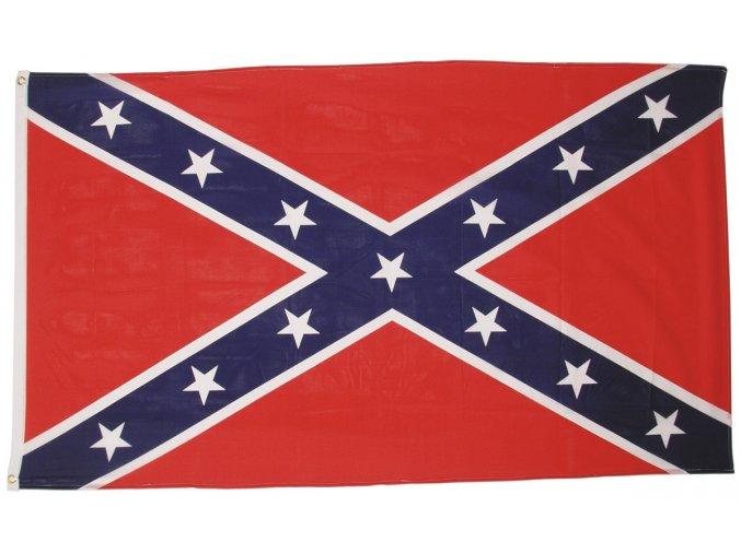 Vlajka Konfederace - jižanská 90 x 150 cm AKCE