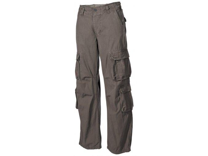 Kalhoty US cargo DEFENSE olivové