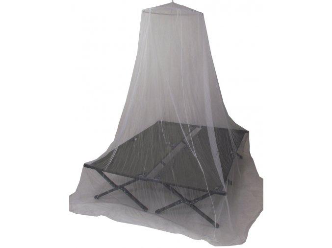 Moskitiéra (moskytiéra) pro dvoupostel bílá 0,63x2,5x12,5 m