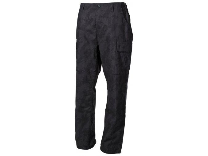 US kalhoty BDU Rip Stop night camo