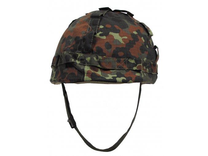 Helma US plastová s návlekem flecktarn