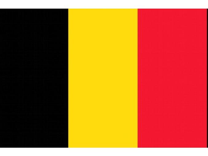 Vlajka Belgie o velikosti 90 x 150 cm