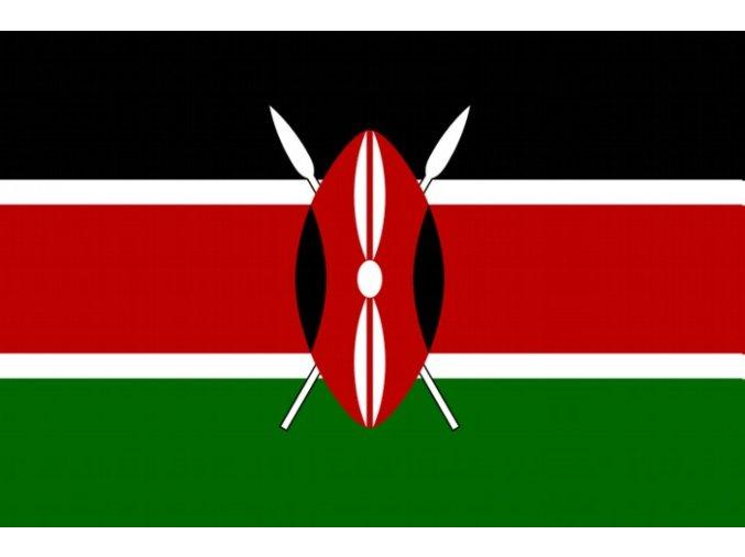 Vlajka Keňa o velikosti 90 x 150 cm