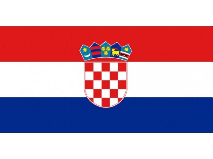 Vlajka Chorvatska o velikosti 90 x 150 cm
