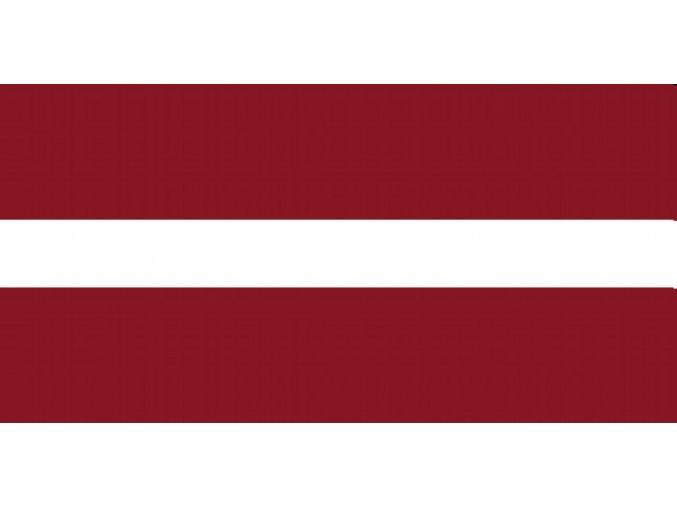 Vlajka Lotyšsko o velikosti 90 x 150 cm
