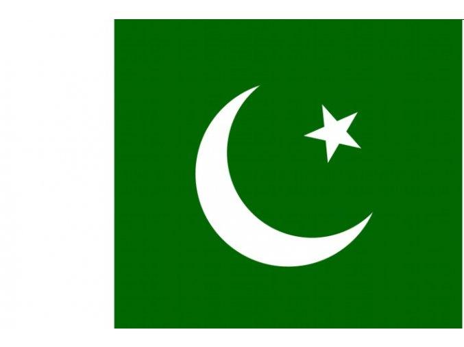 Vlajka Pákistánu o velikosti 90 x 150 cm