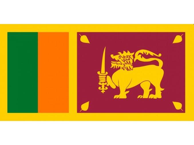 Vlajka Srí Lanka o velikosti 90 x 150 cm