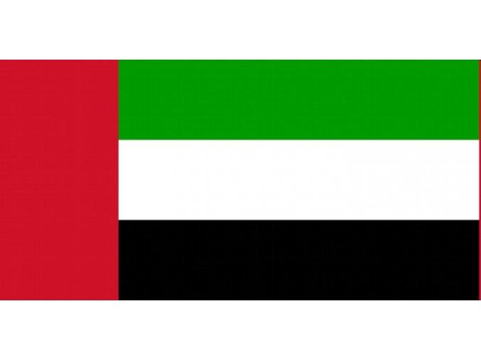 Vlajka Spojené Arabské Emiráty o velikosti 90 x 150 cm