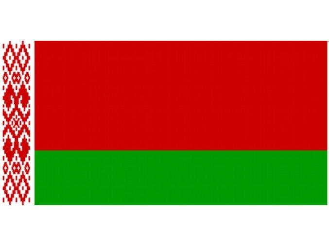 Vlajka Běloruska o velikosti 90 x 150 cm