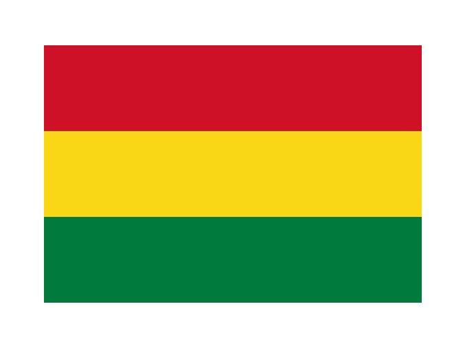 Vlajka Bolívie o velikosti 90 x 150 cm